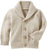 Osh Kosh Baby Boy Marled Shawl-Collar Cardigan Sweater
