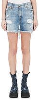 R 13 Women's Shredded Slouch Shorts
