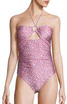 Zimmermann Caravan Ring One-Piece Swimsuit