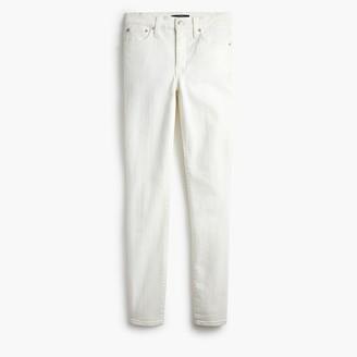 """J.Crew 9"""" High-Rise Skinny Jean In White Denim"""