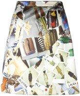 Christopher Kane patterned mini skirt