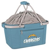NFL Picnic Time NFL San Diego Chargers Metro Basket Collapsible Tote - Sky Blue