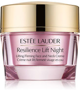 Estee Lauder Resilience Lift Night Lifting/Firming Face and Neck Crème, 1.7 oz.