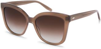 Barton Perreira Shangri-La Oversized Square Acetate Sunglasses