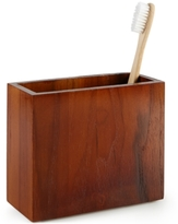 Hotel Collection Teak Toothbrush Holder, Created for Macy's