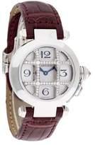 Cartier Pasha De Sunburst Dial Watch