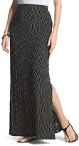 Chico's Striped Maxi Skirt
