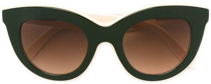 Victoria Beckham cat eye shaped sunglasses