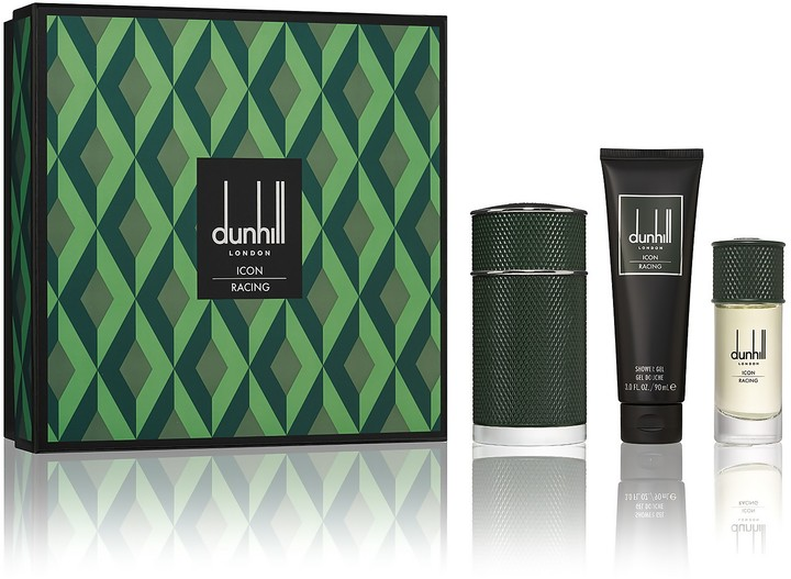 Thumbnail for your product : Dunhill London Icon Racing Eau de Parfum, Shower Gel and Travel Spray Set (Worth 134.50)