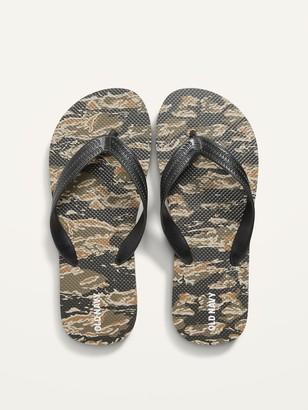 Old Navy Printed Flip-Flop Sandals for Boys