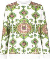 Givenchy carpet print sweatshirt