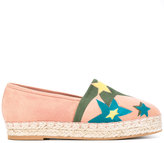 Elie Saab star patch espadrilles - women - Leather/Suede/rubber - 36