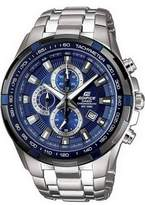 Edifice Casio Men's EF539D-2AV Stainless Steel Chronograph Tachymeter Sport Watch