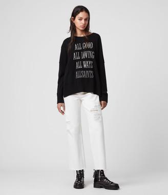 AllSaints Cashmere Crew Sweater