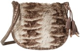 Steven Eldora Faux Fur Saddle Bag