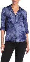Velvet Heart Elisa Tie-Dye Button Down Shirt