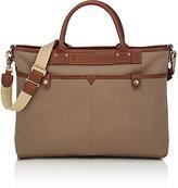 Felisi Men's Slim Briefcase-TAN