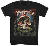 FEA Men's Allman Brothers Band Many Mushrooms T-Shirt