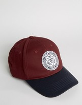 Asos Baseball Cap With Embroidery