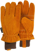 JCPenney QuietWear Insulated Split-Leather Gloves