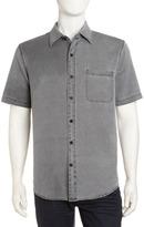 Nat Nast Havana Silk-Blend Shirt, Black