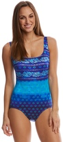 Longitude Maharani XBack Tank One Piece Swimsuit - 8150572