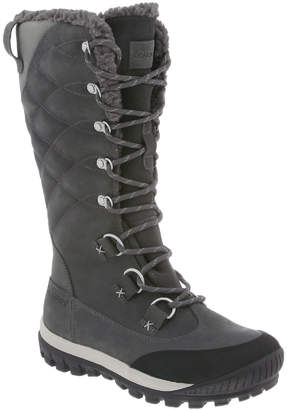 BearPaw Women's Cold Weather Boots CHARCOAL_30 - Charcoal Isabella Waterproof Leather Snow Boot - Women