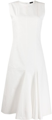 Joseph Sleeveless Pleated Dress