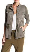 Lucky Brand Brushed Military Jacket