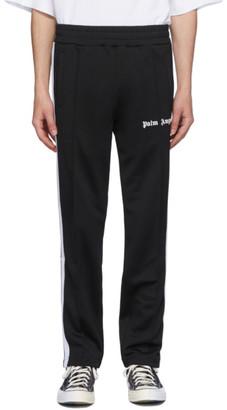 Palm Angels Black Classic Track Pants