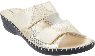 David Tate Casual Slide Sandals - Flex
