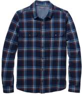Toad&Co Indigo Flannel Slim Long-Sleeve Shirt