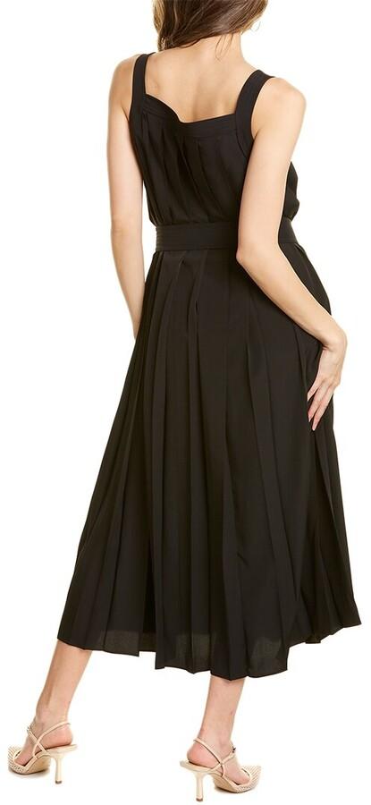Thumbnail for your product : Max Mara Aureo Linen-Blend Sheath Dress