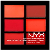 NYX Pro Lip Cream Palette The Reds 0.31oz