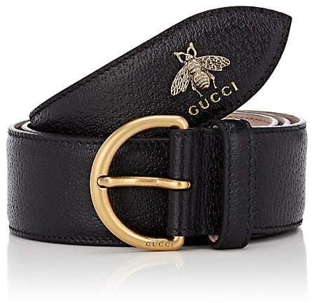 Gucci Men's Bee Leather Belt