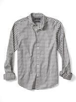 Banana Republic Camden-Fit Luxe Flannel Gingham Shirt