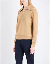 Dries Van Noten Hidle long-sleeved cotton jumper