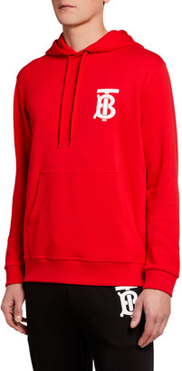 Burberry Men's Landon TB Logo Hoodie Sweatshirt