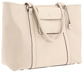 Knomo London - Sulina Top Zip Shopper Laptop Bag (Ivory) - Bags and Luggage