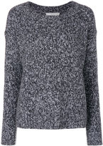 Vince long sleeved sweater - women - Silk/Cashmere/Wool - S