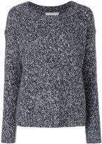 Vince long sleeved sweater - women - Silk/Cashmere/Wool - XS