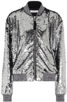 Golden Goose Sequined bomber jacket