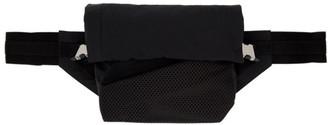 Bottega Veneta Black Nylon Bum Bag