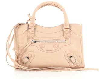 Balenciaga City Rubber Studs Bag Leather Mini