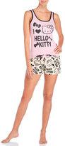 Hello Kitty Two-Piece I Love Tank & Shorts Pajama Set
