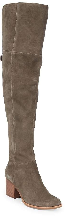 Dolce Vita Women's Kerina Block Heel Suede Boots
