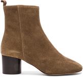Etoile Isabel Marant Suede Deyissa Summer Velvet Boots