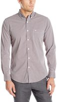 Dockers Long Sleeve Micro Check Comfort Stretch Woven Shirt