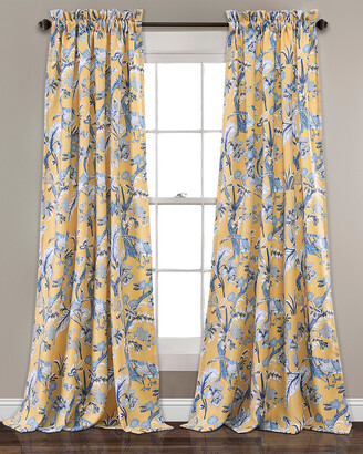 Triangle Home Fashion Dolores Room Darkening Window Curtain Panels