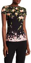 Ted Baker Peach Blossom Fitted Tee
